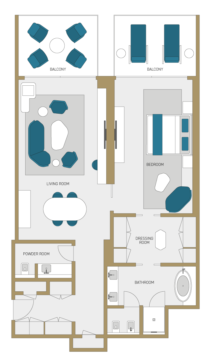 Options floorplan.